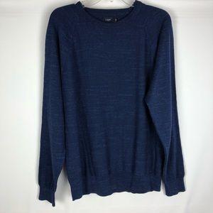 J.Crew Factory Men's Sweater Textured Crewneck